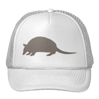 Gray Armadillo Trucker Hat