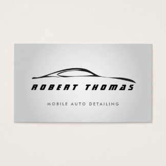 GRAY AUTO DETAILING, AUTO REPAIR BUSINESS CARD