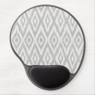 Gray Aztec Pastel Watercolor Ikat Soft Geometric Gel Mouse Pad