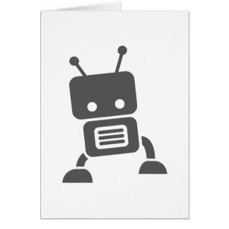 Gray Baby Robot Card