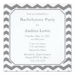 Gray Bachelorette Party Invite / Announcement