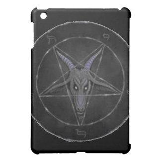 Gray Baphomet iPad Case