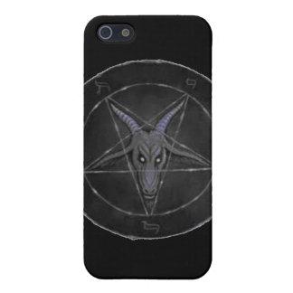 Gray Baphomet iPhone 4 Case
