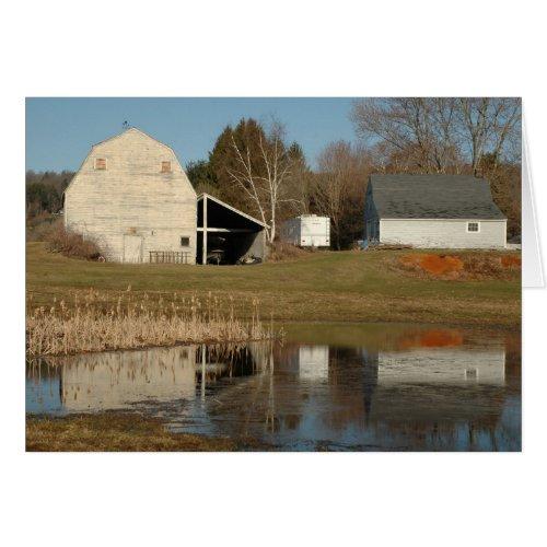 Gray Barn - Reflections of Serenity