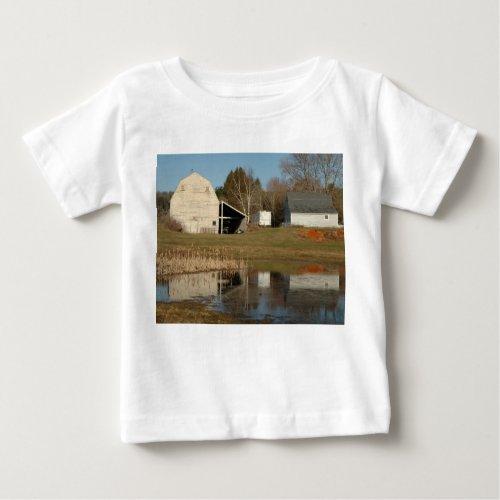 Gray Barn - Reflections of Serenity Baby T-Shirt