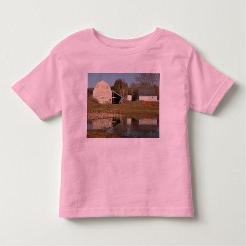 Gray Barn - Reflections of Serenity Toddler T-shirt