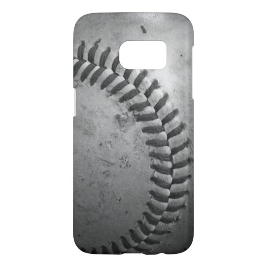 Gray Baseball Samsung Galaxy S7 Case