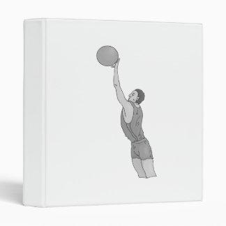 gray basketball man 3 ring binders