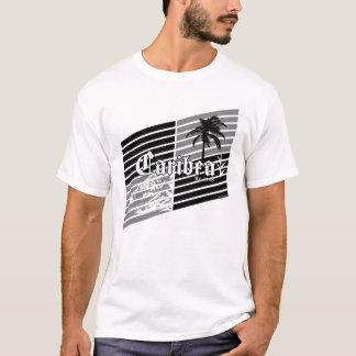 Gray Beach Slants T-Shirt