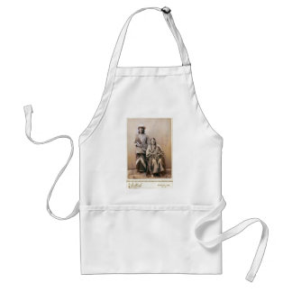 Gray Bear's Wife and Papoose 1880 Adult Apron
