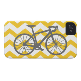 Gray bicycle iPhone case