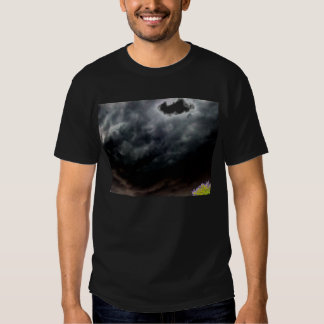 Gray&Black Storm and Purple&Green Treetops by KLM Shirts