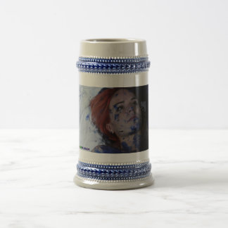 Gray/Blue 18 oz Stein Route of Acceptance Mug