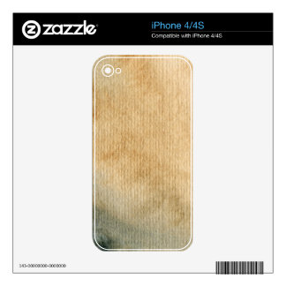 gray-blue background watercolor 7 iPhone 4 skins