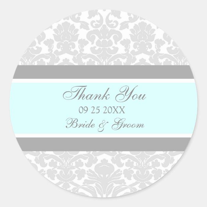 gray damask thank you - photo #19