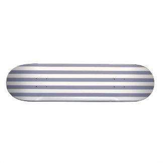 Gray-Blue Vertical Stripes; Striped Skateboard Decks