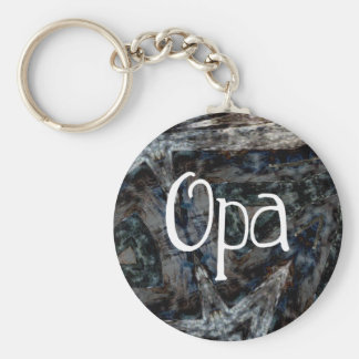 Gray Blues Brown Opa Keychains