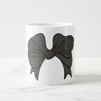 Gray Bow Jumbo Mug
