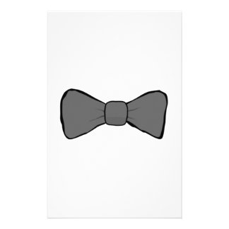 Gray Bow Tie Stationery