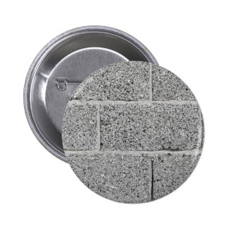 Gray brick wall background button