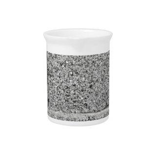 Gray brick wall background drink pitchers