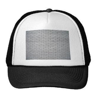 Gray Brick Wall Texture Hats