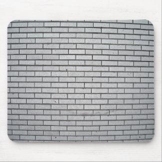 Gray Brick Wall Texture Mouse Pad