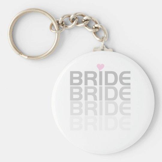 Gray Bride Fade Keychain