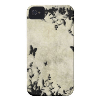 Gray Brown Marble Look iPhone 4 Cover