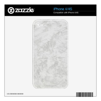 Gray Brush Strokes Decal For The iPhone 4S