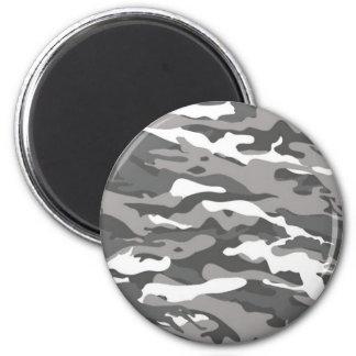 Gray Camo Magnet