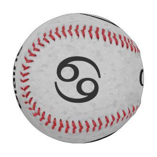 Gray Cancer Zodiac Baseball
