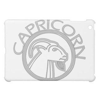 Gray Capricorn Horoscope Sign  iPad Mini Cover