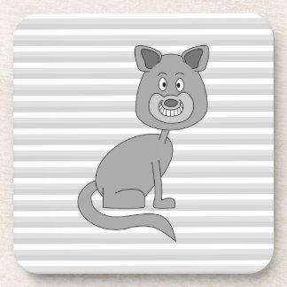 Gray Cat. Coaster
