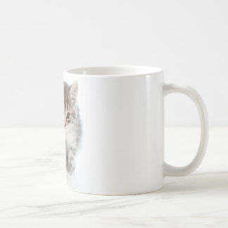 Gray Cat Coffee Mug