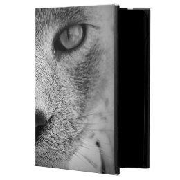 Gray Cat iPad Air Cover