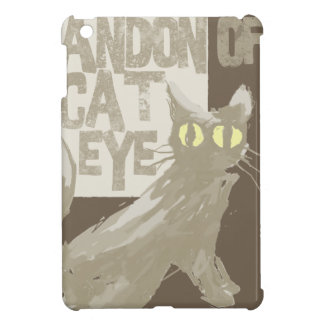 Gray Cat iPad Mini Case
