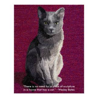 Gray Cat Prints and Posters