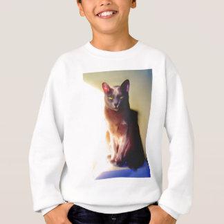 Gray Cat Sweatshirt
