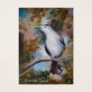 Gray Catbird ArtCard Business Card