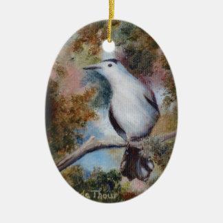 Gray Catbird Ornament