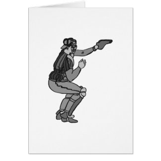 Gray Catcher Greeting Card