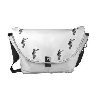 Gray Catcher Courier Bag