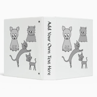 Gray Cats. Binder