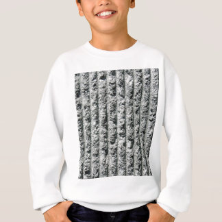 Gray Cement Wall with Grooves Sweatshirt