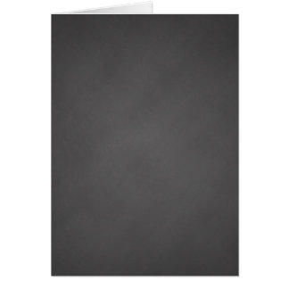 Gray Chalkboard Background Black Chalk Board Greeting Card