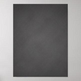 Gray Chalkboard Background Black Chalk Board Poster