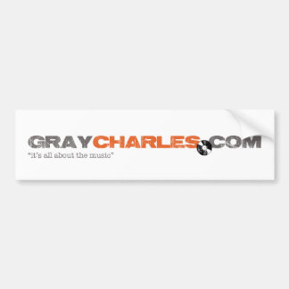 Gray Charles -  Bumper Sticker