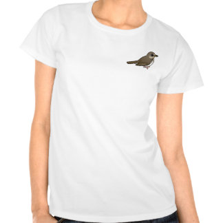 Gray-cheeked Thrush T-shirts