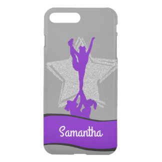 Gray Cheerleader Flyer personalized iphone 7 case